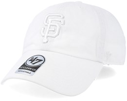 San Francisco Giants Clean Up White/White Adjustable - 47 Brand