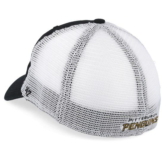 55110fa616f21 Pittsburgh Penguins Blue Hill 47 Closer Mesh Black White Unconstructed - 47  Brand caps - Hatstore.ae