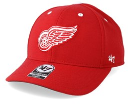 Detroit Red Wings Kickoff 47 Contender Wool Red Flexfit - 47 Brand