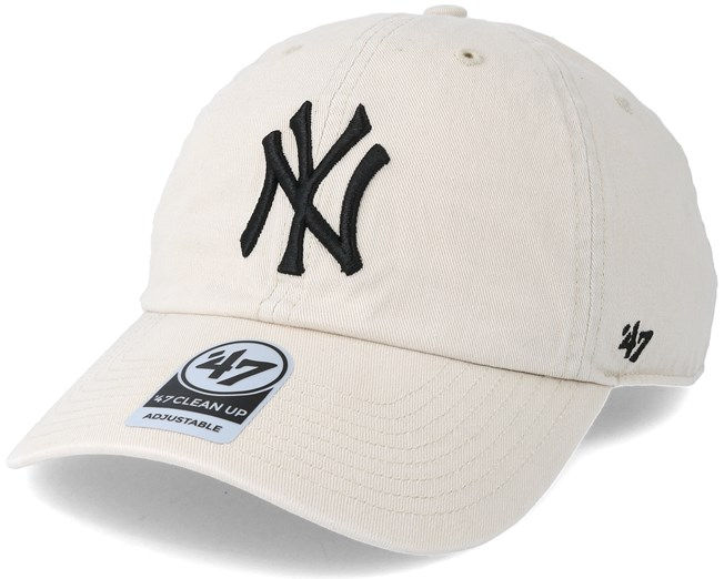 e2cdea13cf09e New York Yankees Clean Up Natural Adjustable - 47 Brand cap - Hatstore.co.in