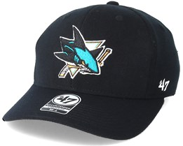 San Jose Sharks Contender 2 Black Flexfit - 47 Brand