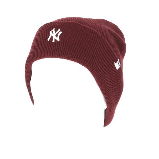 New York Yankees Centerfield Dark Maroon Beanie - 47 Brand beanies ... 1cc5b7dfb260