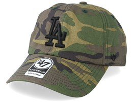 Los Angeles Dodgers Unwashed Green Camo Adjustable - 47 Brand