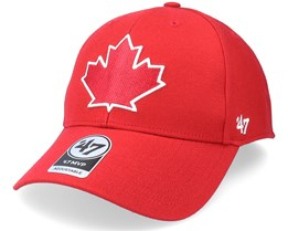 Toronto Blue Jays Mvp Red Adjustable - 47 Brand