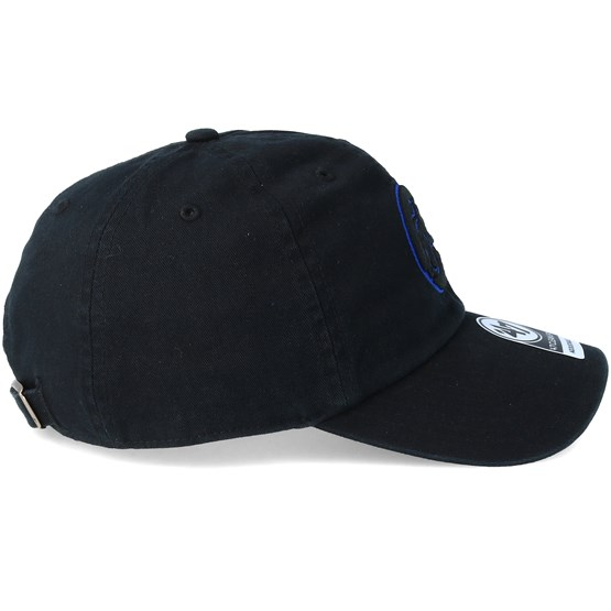 Chicago Cubs Clean Up Black Adjustable - 47 Brand cap - Hatstore.co.in 59b43840ee54