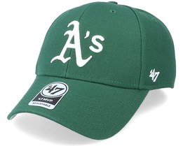 Oakland Athletics Mvp Dark Green/White Adjustable - 47 Brand