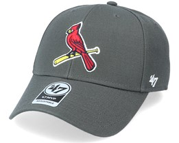 St. Louis Cardinals Mvp Charcoal/Red Adjustable - 47 Brand