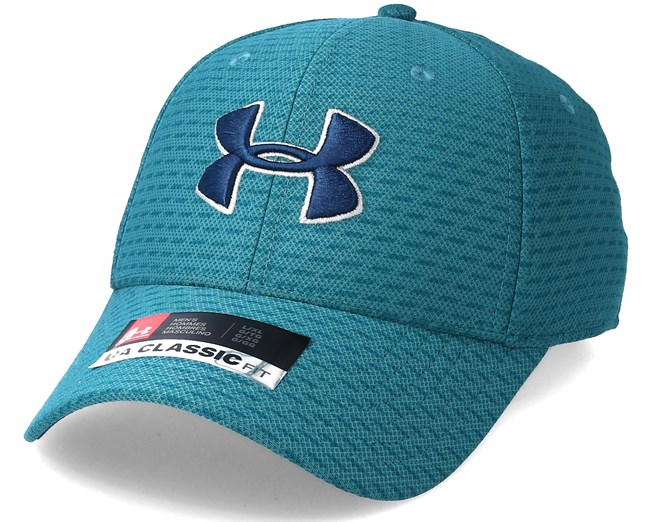 f2ad2c49f22fe Men´s Printed Blitzing 3.0 Teal Flexfit - Under Armour caps -  Hatstoreworld.com