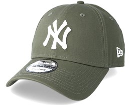 New York Yankees 9Forty League Essential Olive Adjustable - New Era 484f153cee36