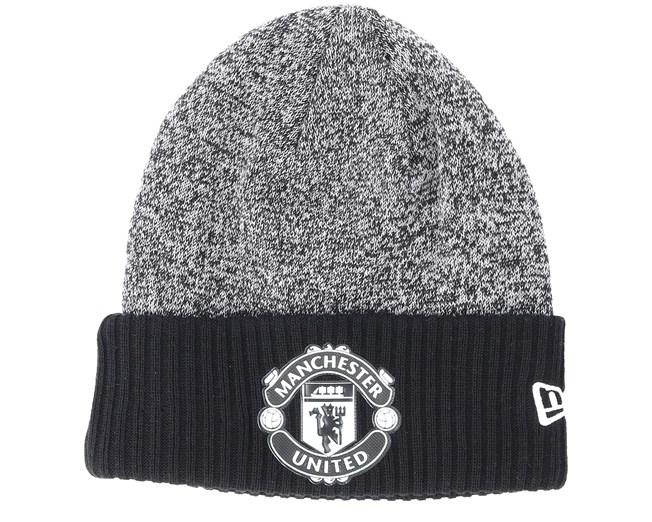 9101945be Manchester United Rob Knit Black Cuff - New Era beanies ...