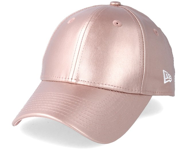separation shoes 70c39 11e7b Womens Metallic Pu 9Forty Pink Gold Adjustable - New Era caps -  Hatstoreworld.com