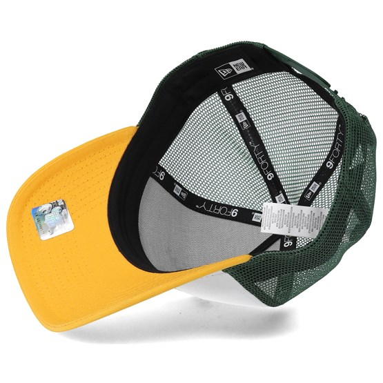 the latest 00494 395e2 Green Bay Packers Throwback Trucker White Adjustable - New Era caps -  Hatstoreworld.com