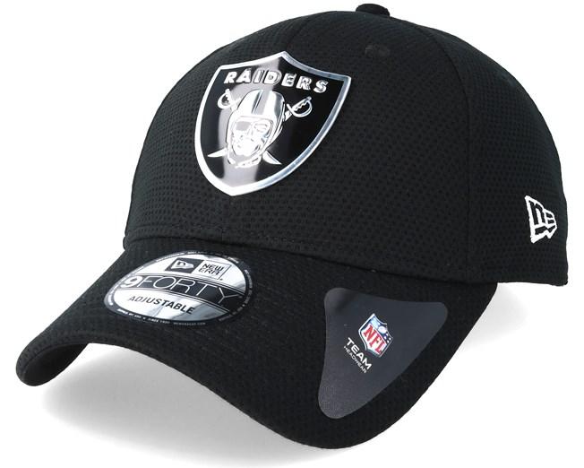 Oakland Raiders Logo Pack 940 Black Adjustable - New Era - Start Cappellino  - Hatstore bf5447de3d76