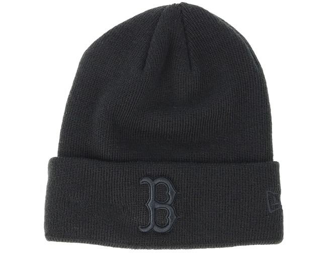 fac4af6141b Kids Boston Red Sox Junior Seasonal Black Cuff - New Era beanies -  Hatstoreworld.com
