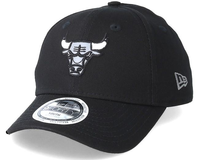38b6d75d0b1 Kids Chicago Bulls Junior Reflect 940 Black Adjustable - New Era - Start  Gorra - Hatstore