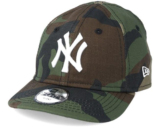 5859e2ab2dde Kids New York Yankees Inf League Essential 940 Camo Adjustable - New Era  caps - Hatstoreaustralia.com