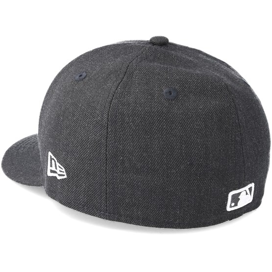uznane marki najlepszy dostawca wykwintny design New York Yankees Heather Low Profile 59Fifty Dark Grey Fitted - New Era