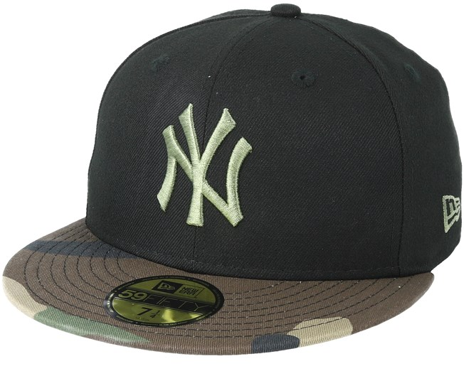 3bd45a107a5 New York Yankees Contrast Camo Black Fitted - New Era caps ...