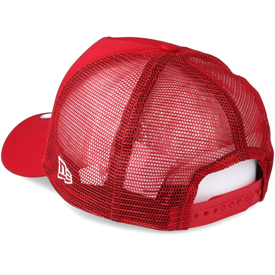 0dd5ba40562 Chicago Bulls Chainstitch Trucker Scarlet Adjustable - New Era caps -  Hatstoreworld.com