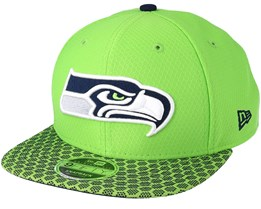 Seattle Seahawks Sideline 9Fifty Green Snapback - New Era