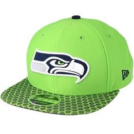 buy online dfd48 434af New Era Seattle Seahawks Team Mesh 9Fifty Navy Snapback - New Era £39.99.  Almost Gone!