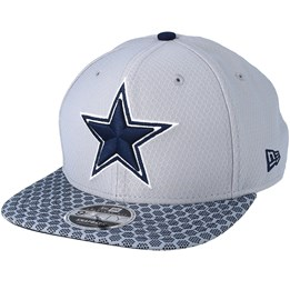 4289487461ce70 New Era Dallas Cowboys Sideline 9Fifty Grey Snapback - New Era AU$ 59.99