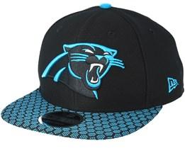 Carolina Panthers Sideline 9Fifty Black Snapback - New Era 13a88156e