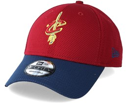 Cleveland Cavaliers Team Mesh 9Forty Burgundy Adjustable - New Era