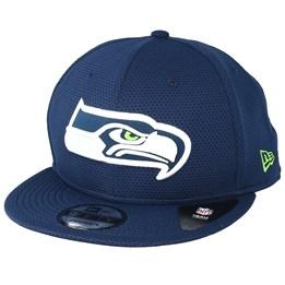 huge selection of 10a14 02c9e New Era Seattle Seahawks Team Mesh 9Fifty Navy Snapback - New Era £39.99