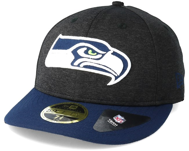 fe3d49aec1b Seattle Seahawks Shadow Tech Low Profile 59Fifty Heather Grey Fitted - New  Era caps - Hatstoreworld.com