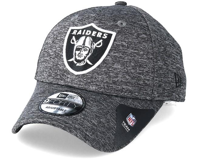 Oakland Raiders Tech 9Forty Grey Adjustable - New Era - Start Cappellino -  Hatstore f1f746fe185e