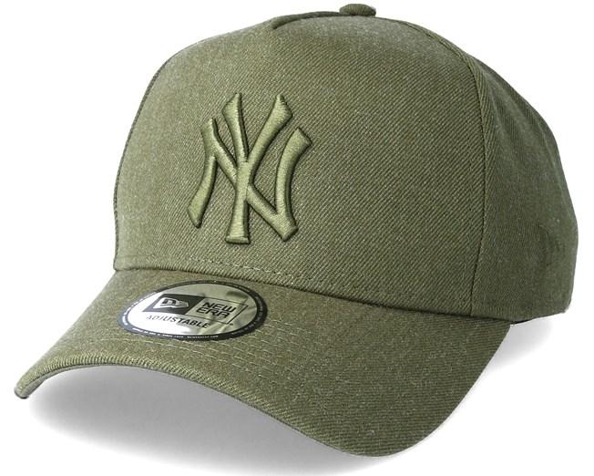 New York Yankees Leuge Essential Aframe Olive Adjustable - New Era caps -  Hatstorecanada.com 3c79c52295a0