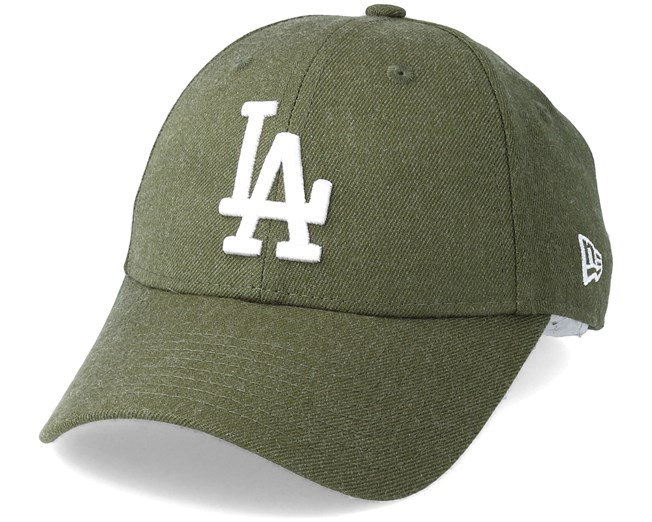 Los Angeles Dodgers Season Heather 9Forty Olive Adjustable - New Era caps -  Hatstoreworld.com be609e338313