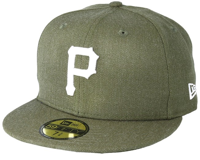 brand new e3487 7d40d Pittsburgh Pirates Season Heather 9Fifty Olive Fitted - New Era caps ...