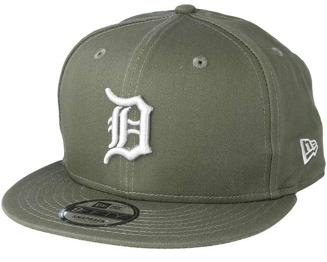 info for 9baa2 bb676 Detroit Tigers League Essential 9Fifty Olive Snapback - New Era caps -  Hatstoreworld.com