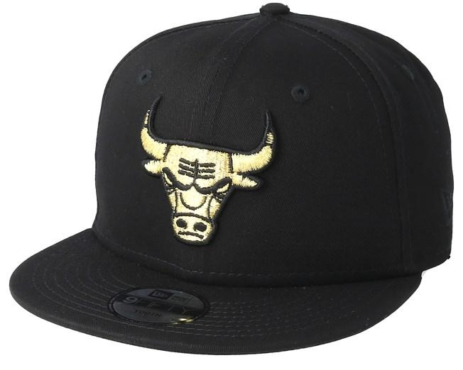 Kids Chicago Bulls Golden 9Fifty Black Snapback - New Era - Start Gorra -  Hatstore c56f8979360
