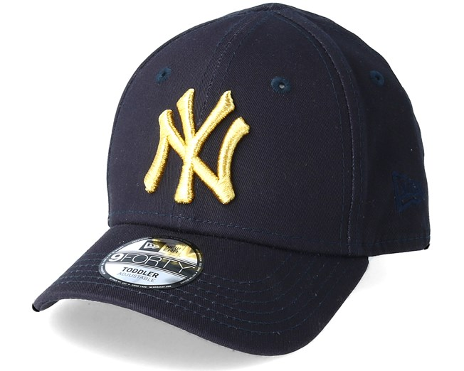 Navy New York Yankees 9FORTY Youth Cap New Era