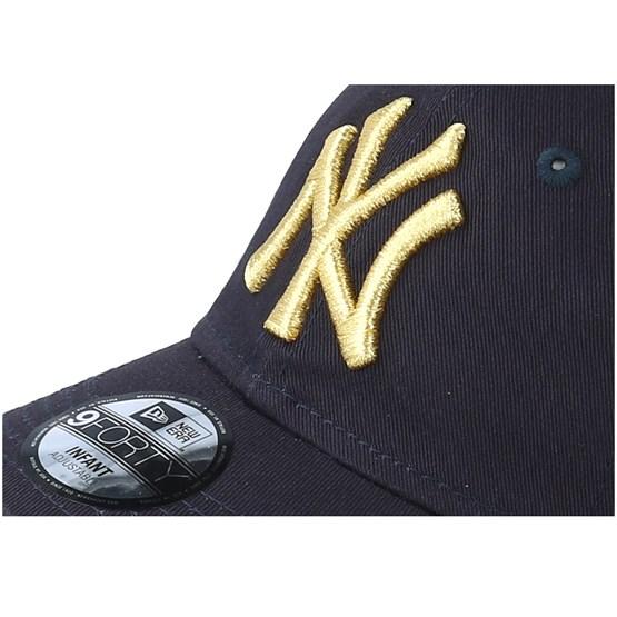 17ee9b1c437 Kids New York Yankees Infant Golden 9Forty Adjustable - New Era caps -  Hatstoreworld.com