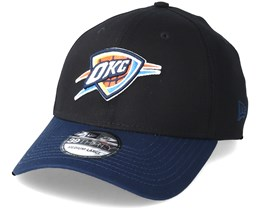 Oklahoma City Thunder Black Base 39Thirty Black Flexfit - New Era