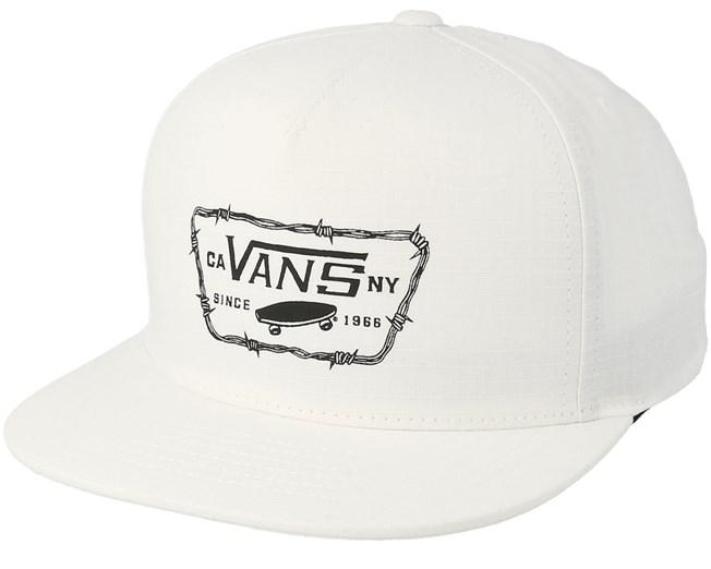 Drop V II White Snapback - Vans lippis - Hatstore.fi a9dfda9d5e