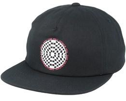 Checkered Shallow Black Snapback - Vans