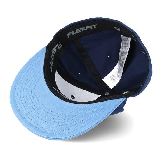 Splitz Dress Blue Fitted - Vans caps  ee889adfd90