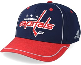 Washington Capitals Alpha Navy Red Flexfit - Adidas 4289c0a03