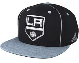 Los Angeles Kings Bravo Black/Grey Snapback - Adidas