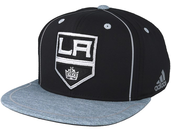 separation shoes 8c697 3939f Los Angeles Kings Bravo Black Grey Snapback - Adidas caps -  Hatstoreworld.com