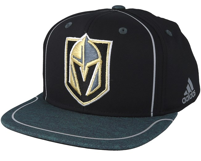 Vegas Golden Knights Bravo Black Dark Teal Snapback - Adidas cap -  Hatstore.co.in ee34b9373