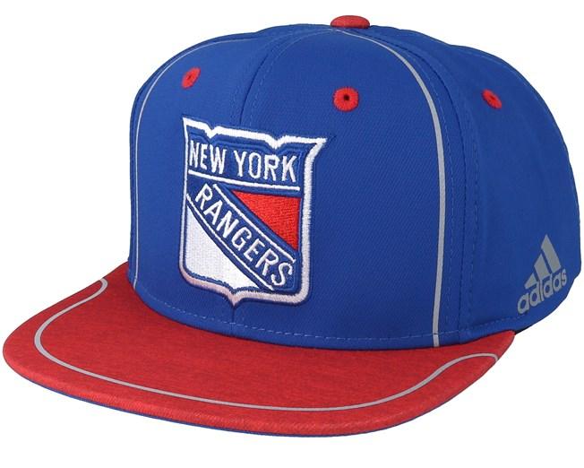 buy popular 17808 94bf7 New York Rangers Bravo Blue/red Snapback - Adidas caps ...