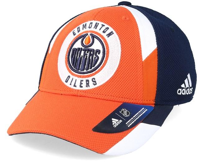 6a6abc24 ... netherlands edmonton oilers echo orange navy flexfit adidas caps  hatstoreworld 93c5a 5f205