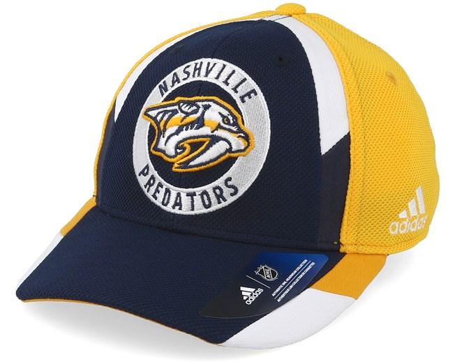 b872f8438ef Nashville Predators Echo Navy Yellow Flexfit - Adidas caps -  Hatstoreaustralia.com