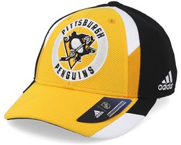 Pittsburgh Penguins Echo Yellow/Black Flexfit - Adidas